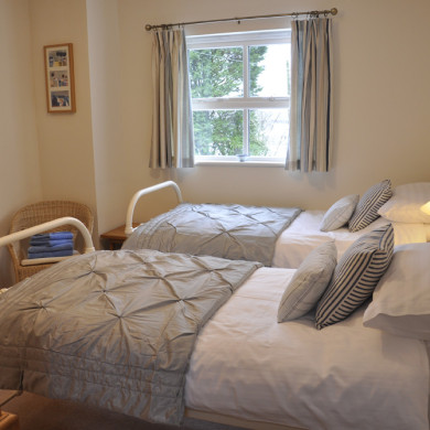 Bedroom 3 in Holiday Cottage near Narberth Pembrokeshire