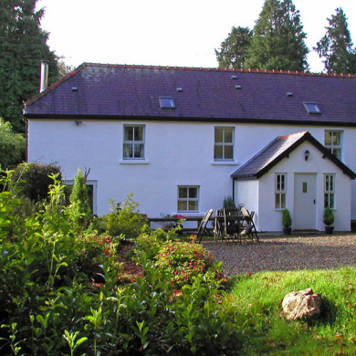 Manor Bedw Holiday Cottage near Narberth in Pembrokeshire