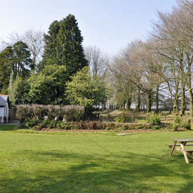 Holiday Cottage garden view near Narberth Pembrokeshire
