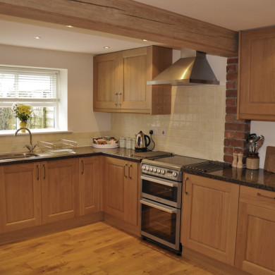 Kitchen in Holiday Cottage near Narberth Pembrokeshire