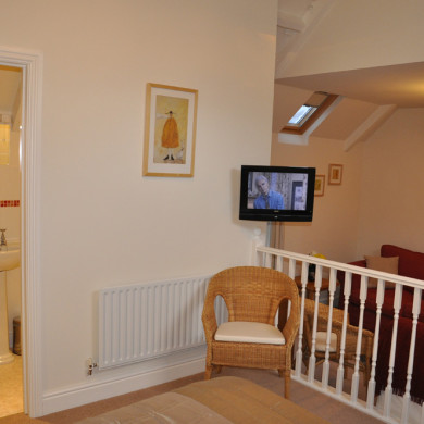 Main Bedroom in Manor Bedw Holiday Cottage near Narberth Pembrokeshire