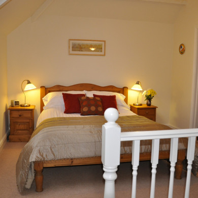Main Bedroom in Holiday Cottage near Narberth Pembrokeshire