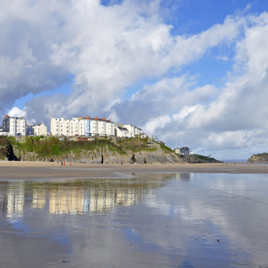 View of Tenby in Pembrokeshire
