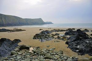 Traeth Llyfn in Pembrokeshire