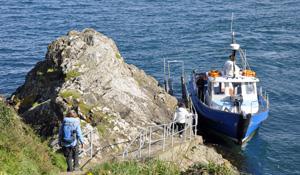 Boat to Skomer