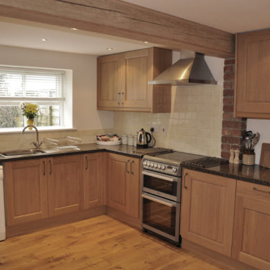 Kitchen in Manor Bedw Holiday Cottage near Narberth Pembrokeshire