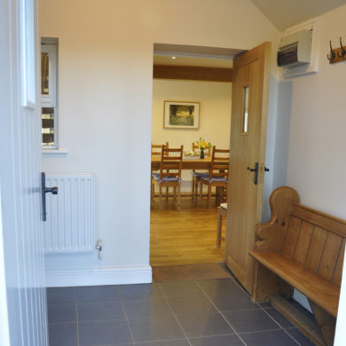 Porch in Manor Bedw Holiday Cottage near Narberth Pembrokeshire
