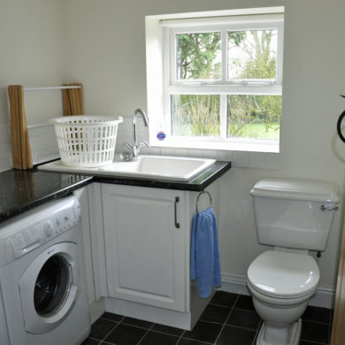 Utility Room in Manor Bedw Holiday Cottage near Narberth Pembrokeshire